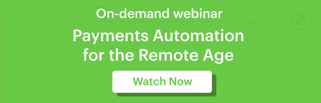 Payment automation for the remote age